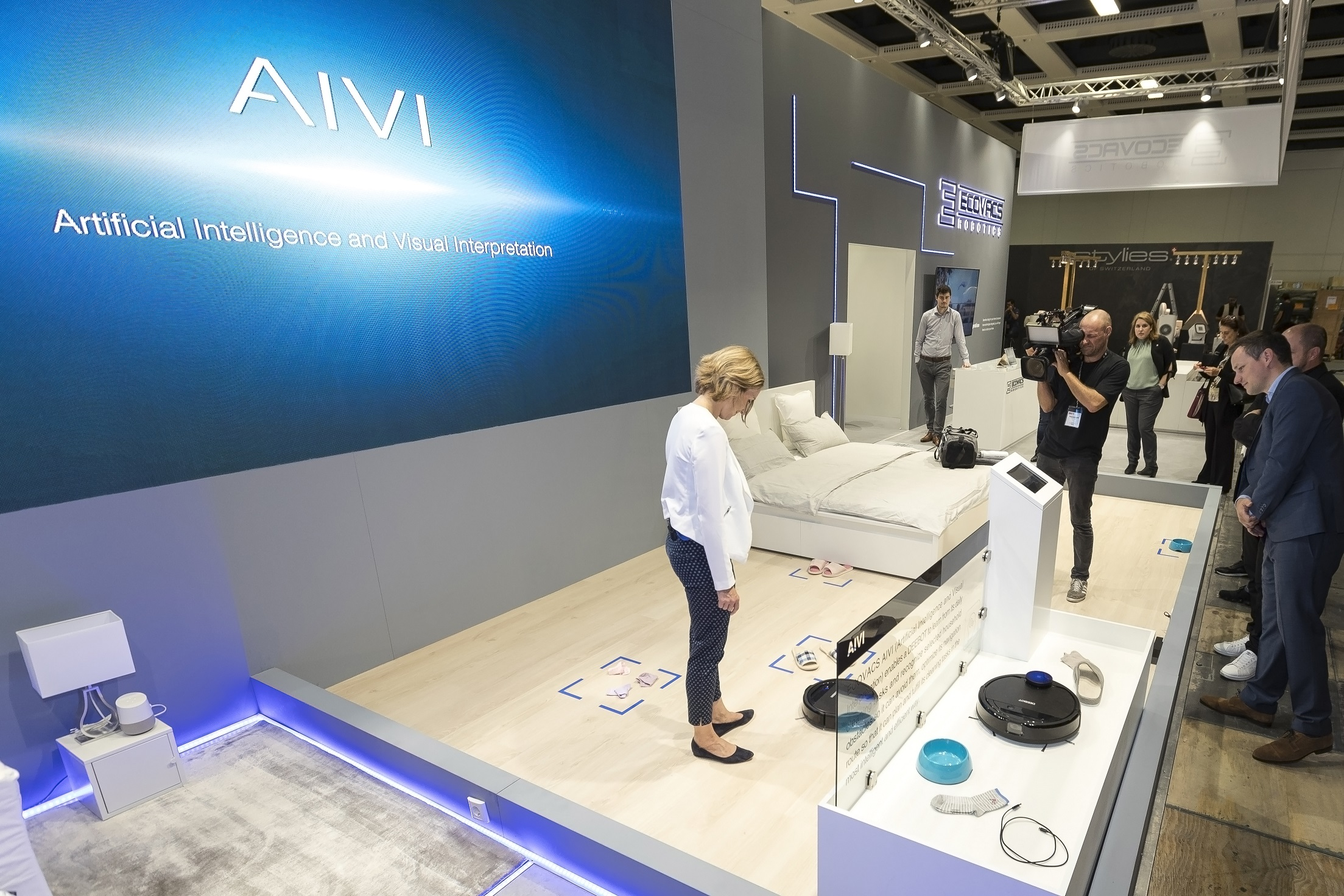 Ecovacs Robotics Unveils Ai Technology For Floor Cleaning Picante