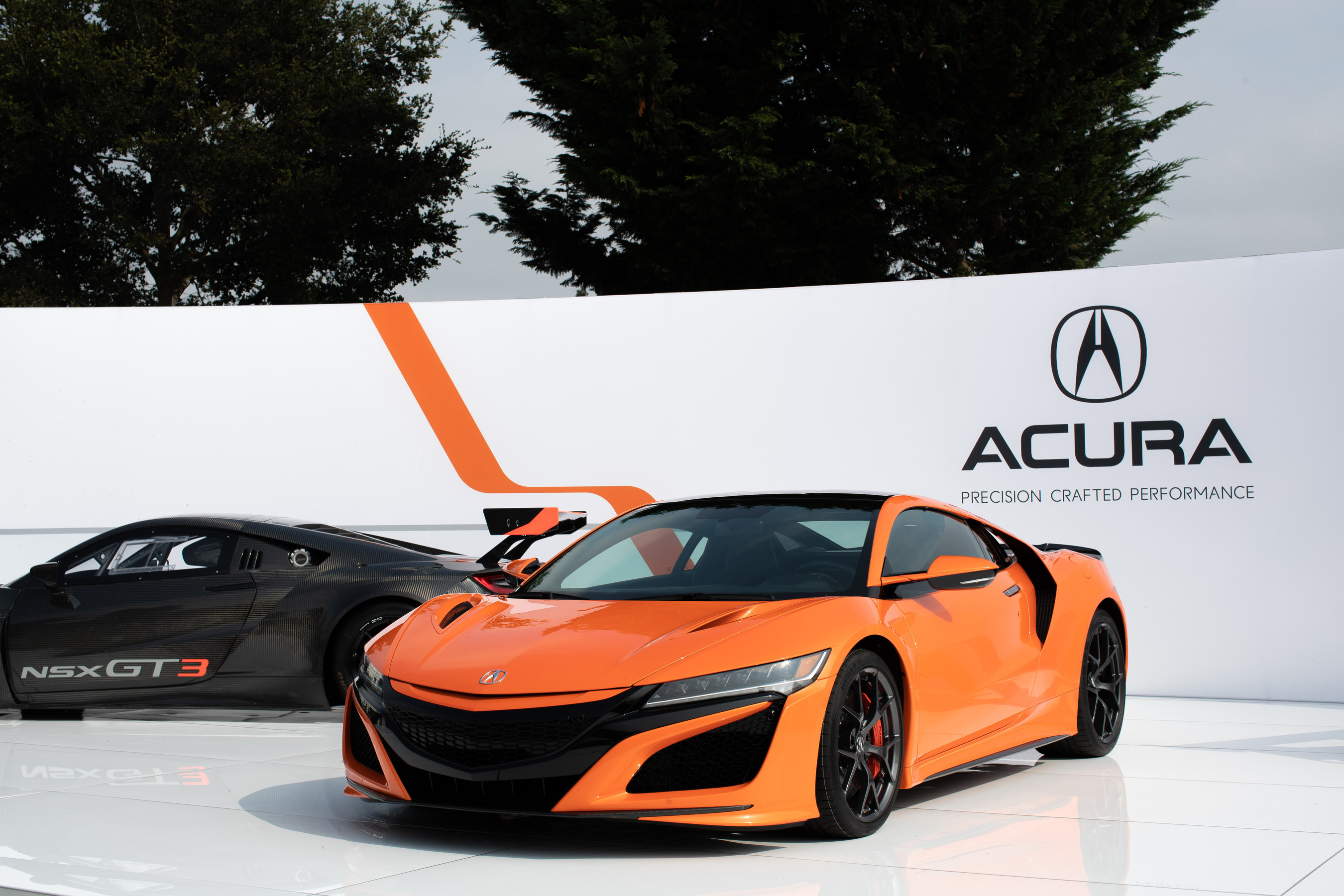 acura takes center stage at monterey car week with global debut of