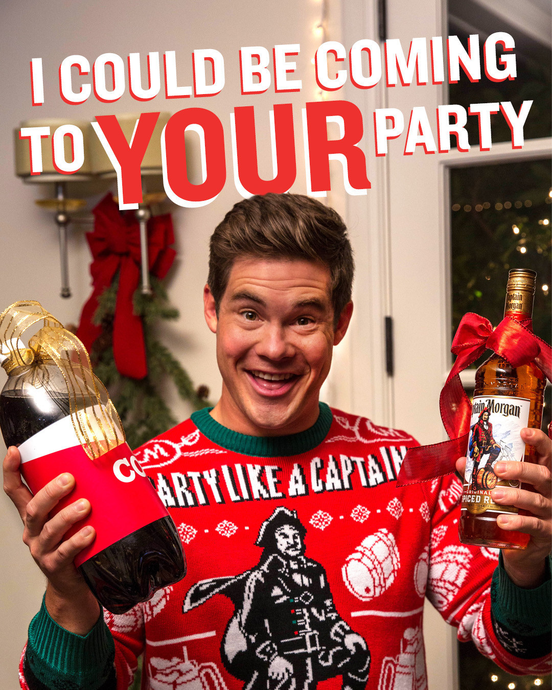 a302ca19c2 Captain Morgan and Chief Party Officer Adam Devine Are Bringing ...