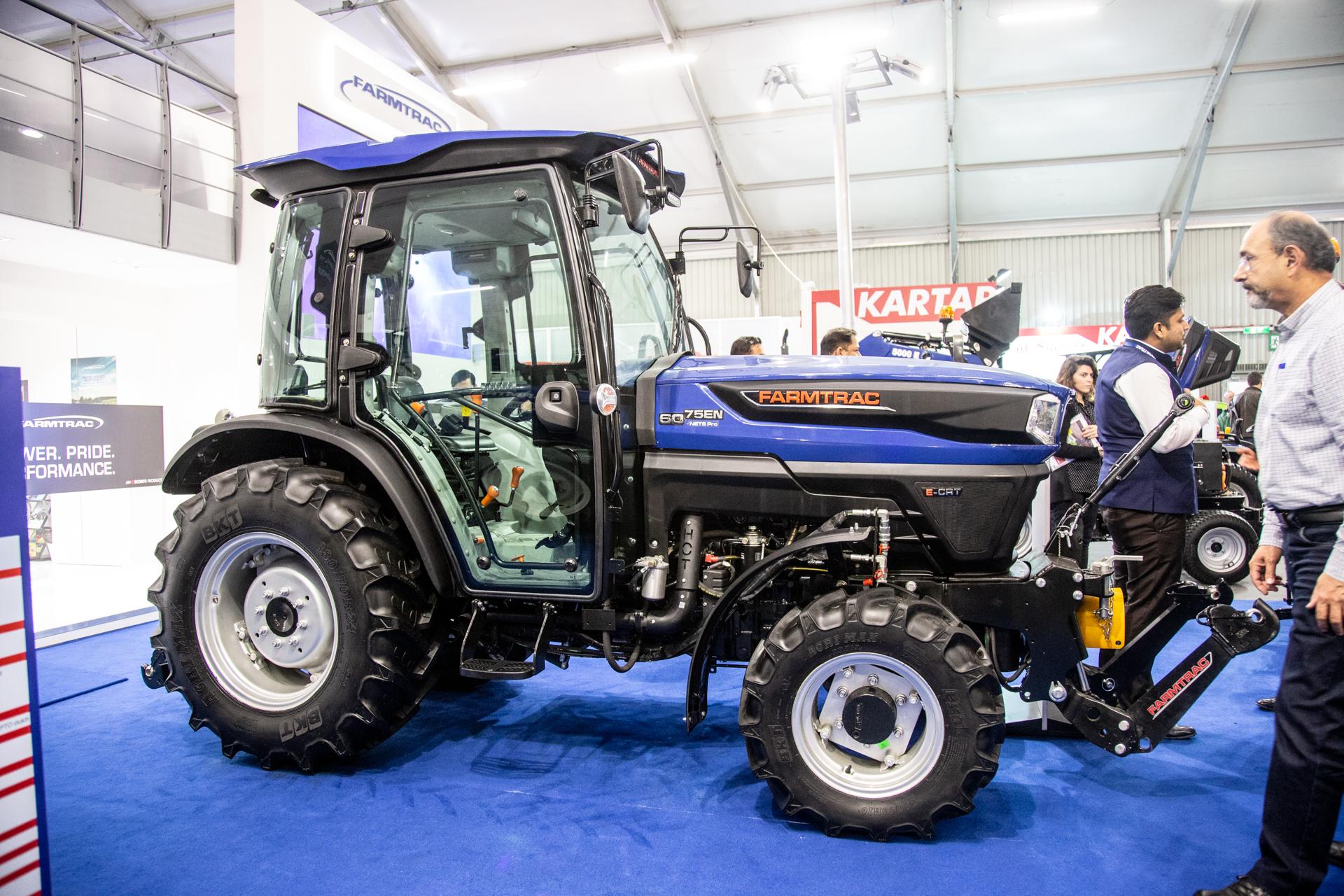 Farmtrac Displays Range of Smart Tractors and Farming Implements at