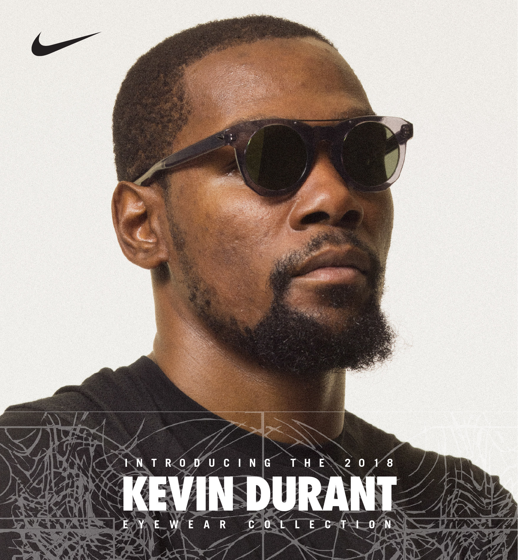 9f260ef85cc NIKE VISION PARTNERS WITH KEVIN DURANT FOR 2018 KD EYEWEAR COLLECTION.  FIRST-EVER SUNGLASSES AND NEW OPTICAL STYLES TO DEBUT FOR FALL 2018