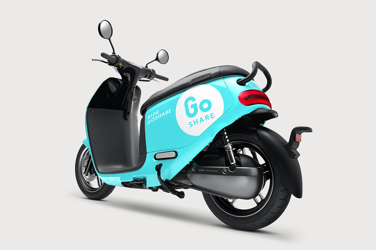 Gogoro Launches GoShare®, An End-to-End Mobility Sharing